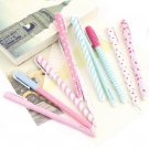 New 10PCS Cute Korean Stationery Watercolor Pen Gel Pens Set Color Kandelia FE
