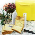 NEW Bread Slicer Slicing Loaf Cutter Cutting Cuts Guide Kitchen Tool LK