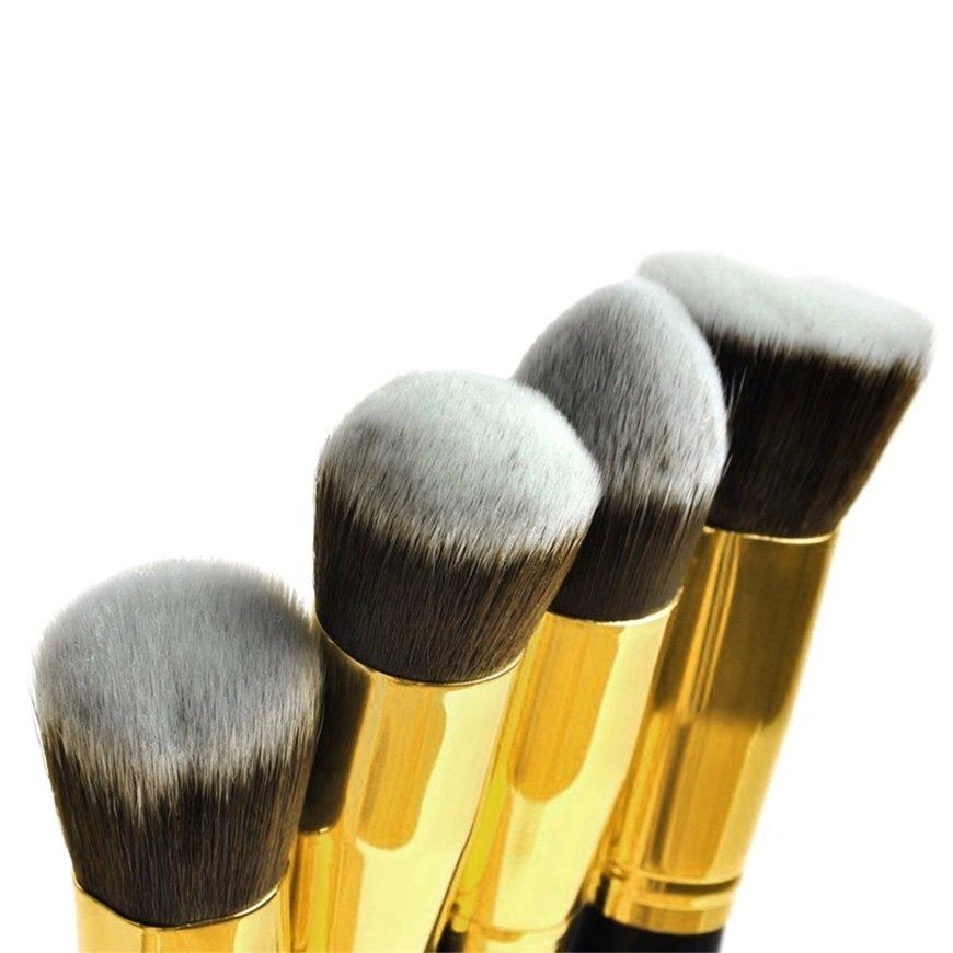2 pcs Waterdrop Shape Makeup Sponge Blender Foundation Flawless Puff FE