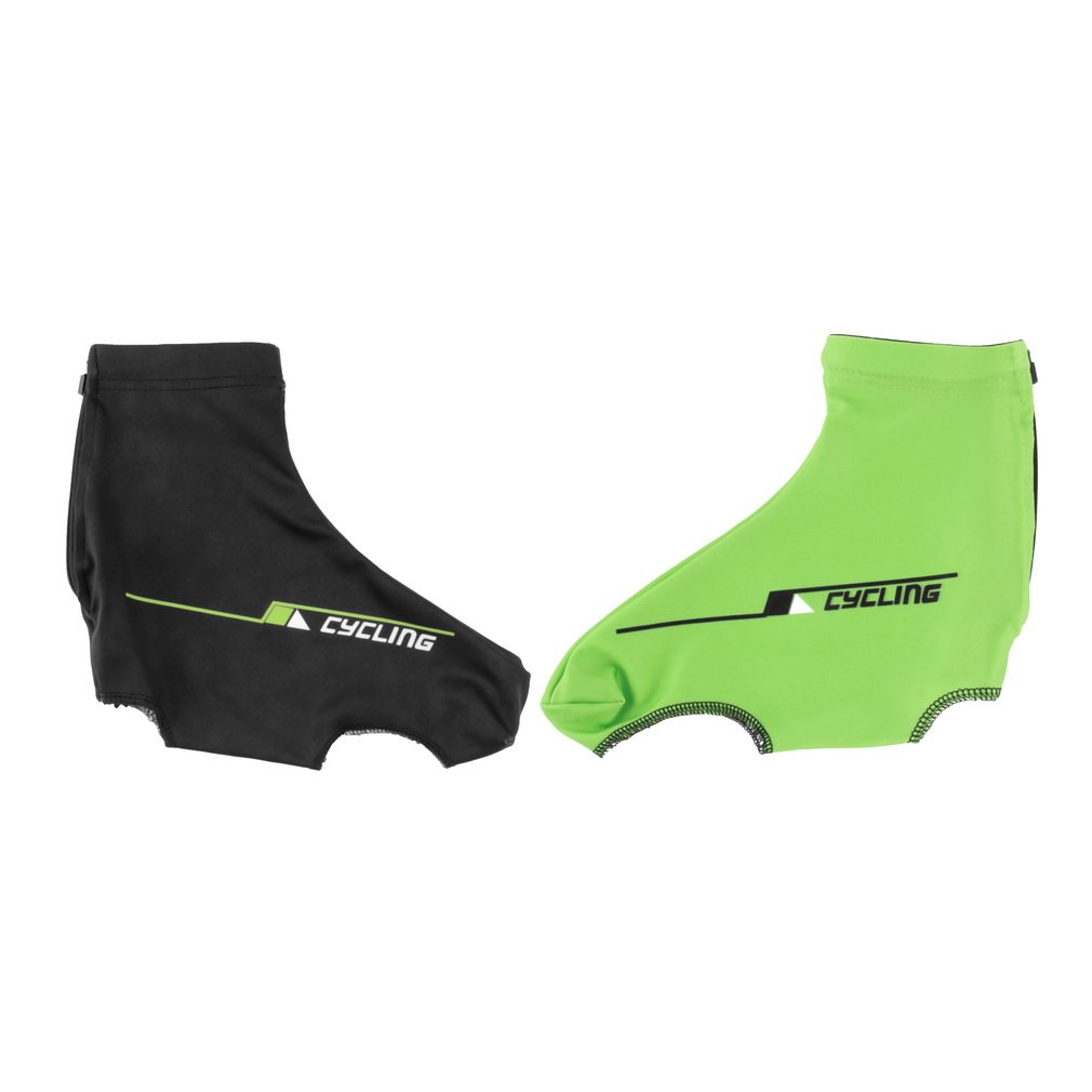 Bicycle Bike Windproof Shoe Covers Cycling Zippered Overshoes Sportwear FE