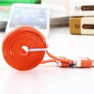 1m 3FT USB Charging Charger Sync Data Cable Cord for Apple iPad3 iPhone 4 4s FE