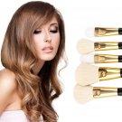 5 pcs NEW Professional Makeup Set Brushes Cosmetics Powder Blush Brush Tool FE