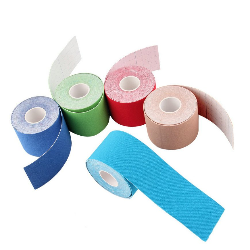 1 Roll 5cm x 5m Kinesiology Sports Elastic Tape Muscle Pain Care Therapeutic FE
