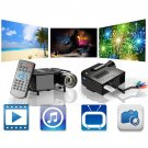 UC28 PRO HDMI Portable Mini LED Entertainment Projector Home Cinema Theater FE