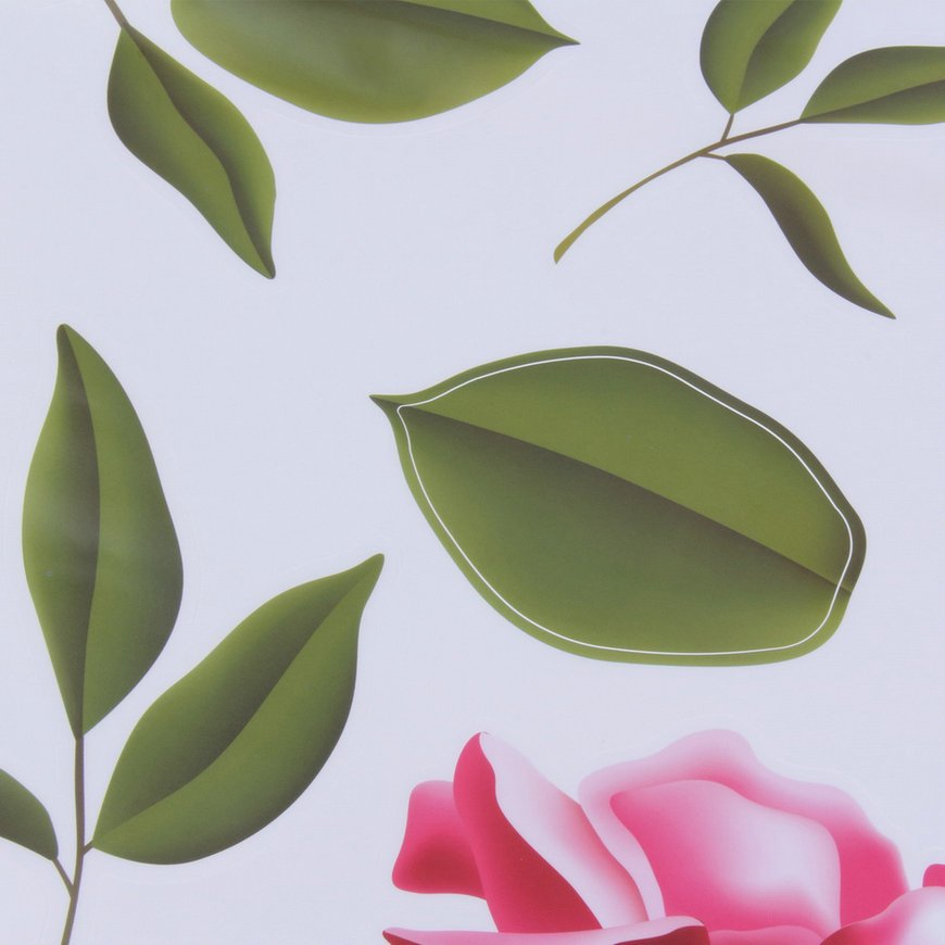 Rose Flower Wall Stickers Removable Decal Home Decor DIY Art Decoration FE