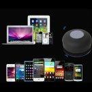 Waterproof Wireless Bluetooth Handsfree Mic Suction Shower Speaker Car Stereo FE