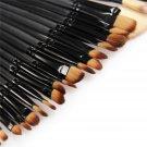 35pcs Makeup Brushes Foundation Powder Eyeshadow Comsmetic Case Kit Set FE