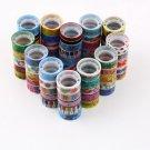 10 Rolls Mixed Cartoon Deco Washi Tape Adhesive Scrapbooking Sticker 1.5cmX300cm