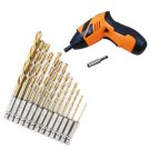 New Durable 13pcs/Set Hex Drill Bit Set Multi Bits Tool 1.5-6.5mm DIY FE