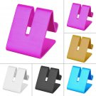 Universal Cell Phone Desk Aluminum Stand Holder For Mobile Phone Tablet PC FE