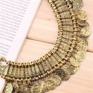 Ethnic Tribal Coin Tassels Necklace Bohemian Festival Gypsy Jewelry New FE