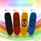 2.4GHz Wireless Remote Control QWERTY Keyboard Air Mouse For Android Mac OS FE