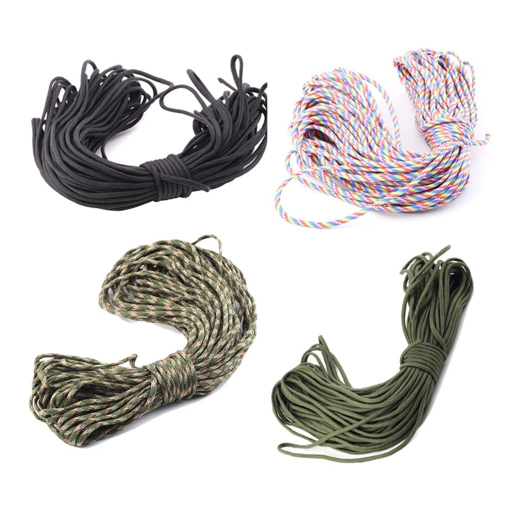550 Paracord Parachute Cord Lanyard Mil Spec Type III 7 Strand Core 100FT FE