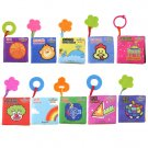 Intelligence Development Cloth Cognize Book Learn Picture Toy for Kid Baby FE