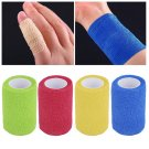 Self-Adhering Bandage Wraps Elastic Adhesive First Aid Tape4.5m x 7.5cm FE