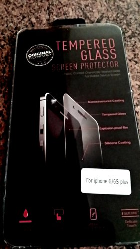 Apple iPhone 6/6s Plus Tempered Glass Screen Protector