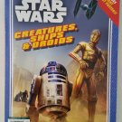 STAR WARS Creatures Ships and Droids BOOK of POSTER a Page - 7 Pull Out NEW !