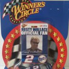 Rusty Wallace Pit Pass Preview Series 1/64 Scale Diecast Car with Card.