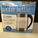 Nesco 1.8 Quart Electric Glass Water Kettle in Gray - GWK-02