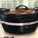 Crock-Pot SCCPCT600-B Thermoshield 6 Quart The original Slow Cooker Black
