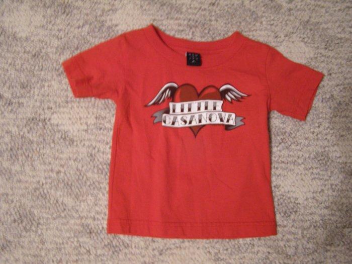 Little Cassanova T-shirt 18 months