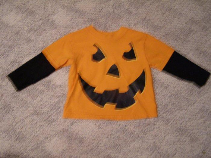 Pumpkin Long Sleeve T-shirt 18 months