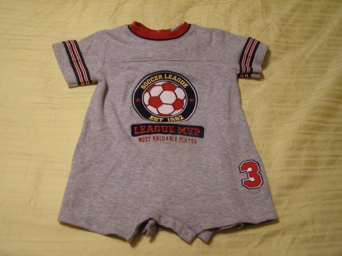 Okie Dokie Soccer Onesie 12 months