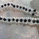Sparkling Swarovski AB Crystal and Black Bracelet
