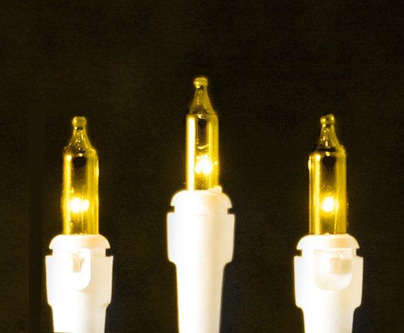 Roman Christmas Lights 50 Yellow Mini Lights
