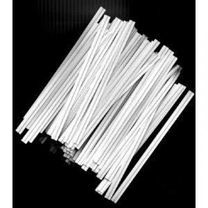 White Platic Coated Twistems