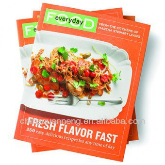 Contact NowPerfect Binding Cooking Books Printing