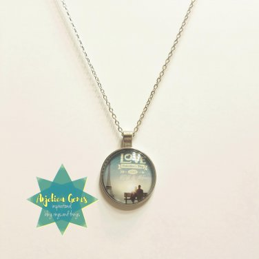 """""""Love is just you and me"""" necklace"""