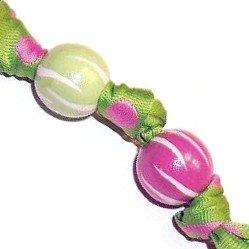 Trendy Pink & Green Zebra