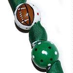 Handpainted NFL Football Team Colors NY Jets