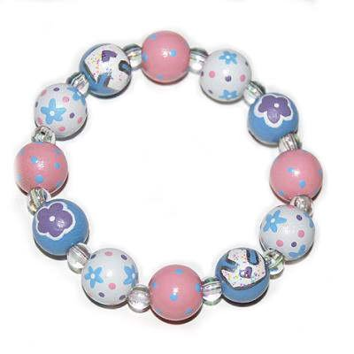 Handpainted Pretty Princess Stretch Bracelet