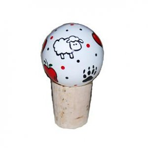 Hand-painted Adorable Twilight Wine Stopper