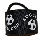 Cute Soccer Hair Cuffs