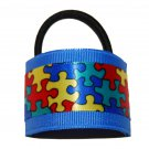 Cute Autism Awareness Hair Cuffs
