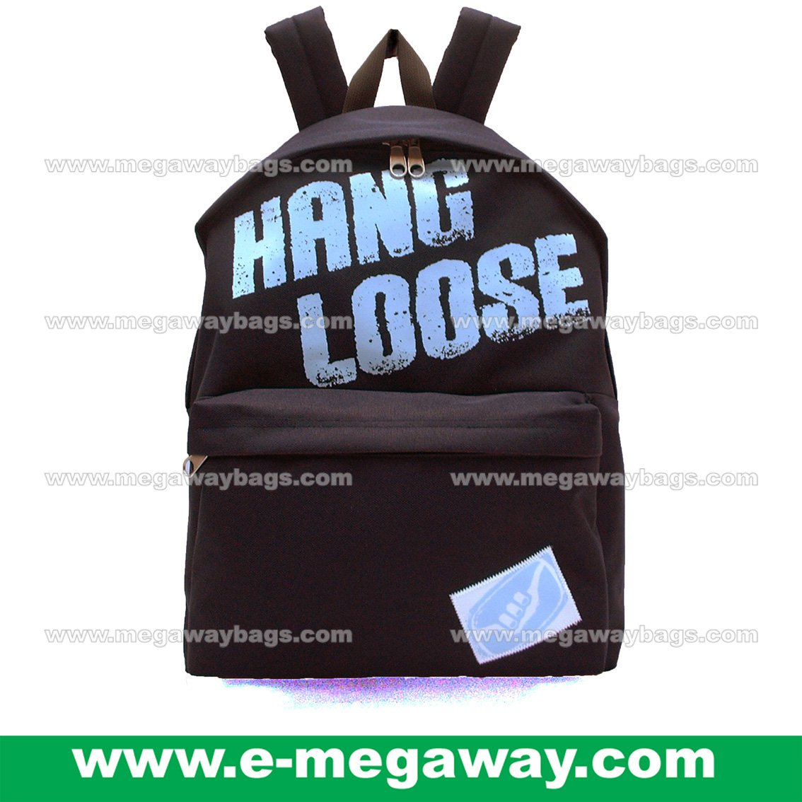 Hang Loose Backpack Nylon Backpack Rucksack Day Pack Sports Outdoor MegawayBags #CC- 0982B