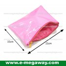Pink Fans Travel Amenity Kits Make Up Zip Pouch Cosmetics Bags Bath MegawayBags #CC-0932A
