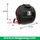 Original AGV Helmet Foamed Protective Bag MotorBike Cycle Bike Racing MegawayBag #CC-0620