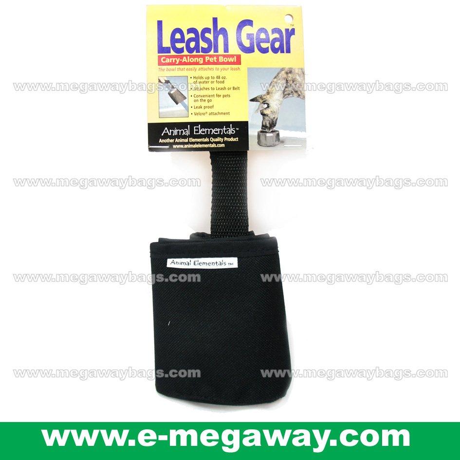 Leash Gear Easy Carry Along Pet Dogs Foldable Bowls Cats Leak Proof MegawayBags #CC-0608