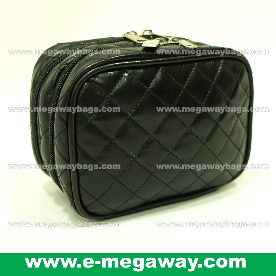 Designer Unique Emboss Quilt Beauty Cosmetic MakeUp Bags Pouch Purse MegawayBags #CC-0044B
