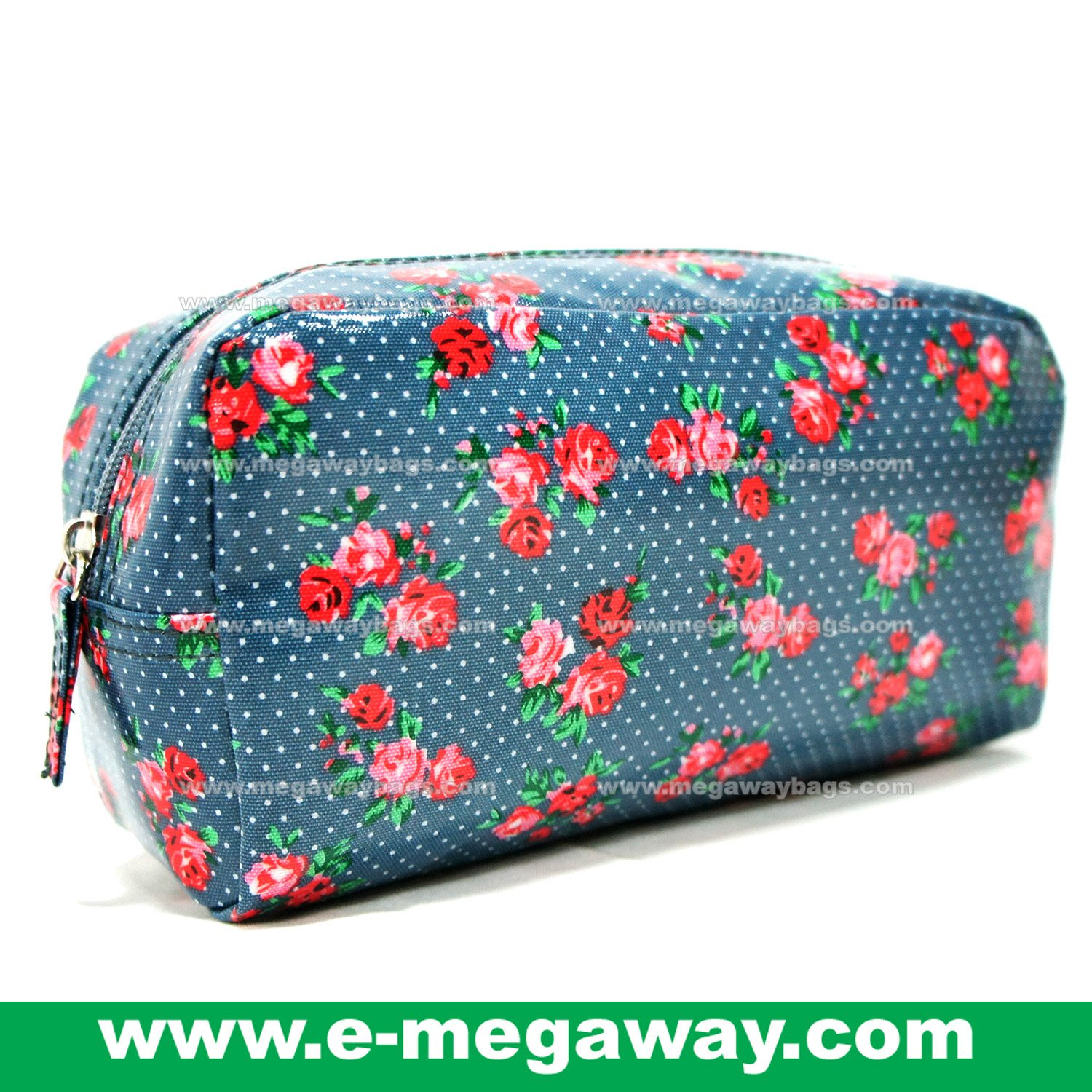 Designers Unique Emboss PVC Beauty Cosmetic Make Up Bags Pouch Purse MegawayBags #CC-0041A