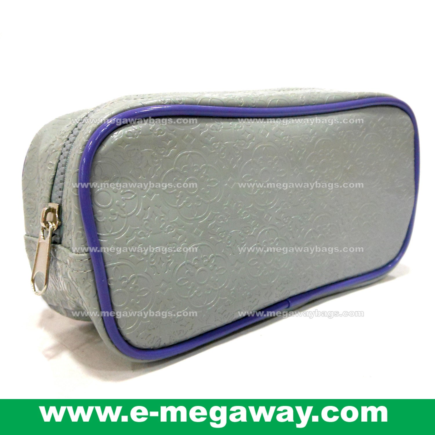 Designers Unique Emboss PVC Beauty Cosmetic Make Up Bags Pouch Purse MegawayBags #CC-0041C