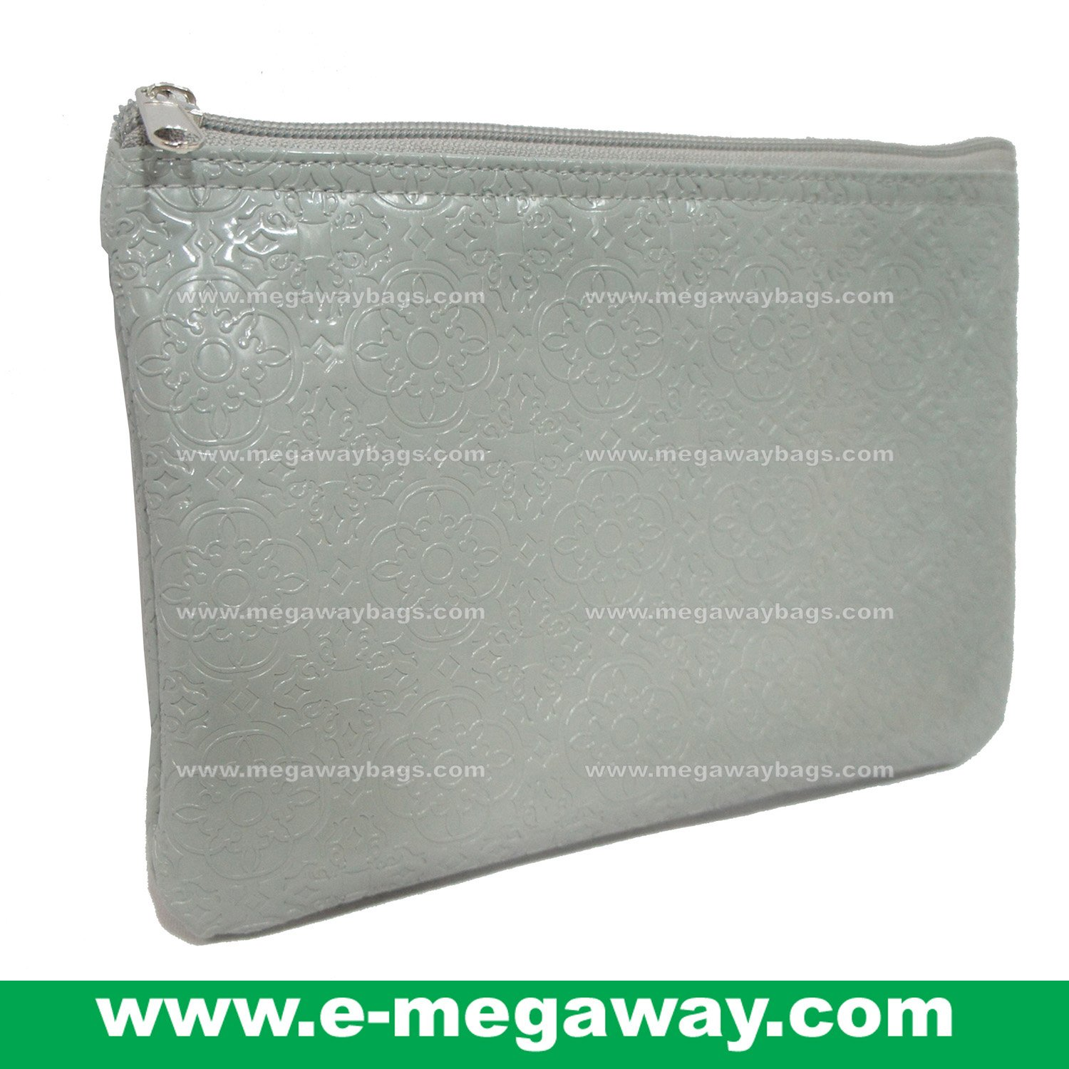 Designers Unique Emboss PVC Beauty Cosmetic Make Up Bags Pouch Purse MegawayBags #CC-0043A