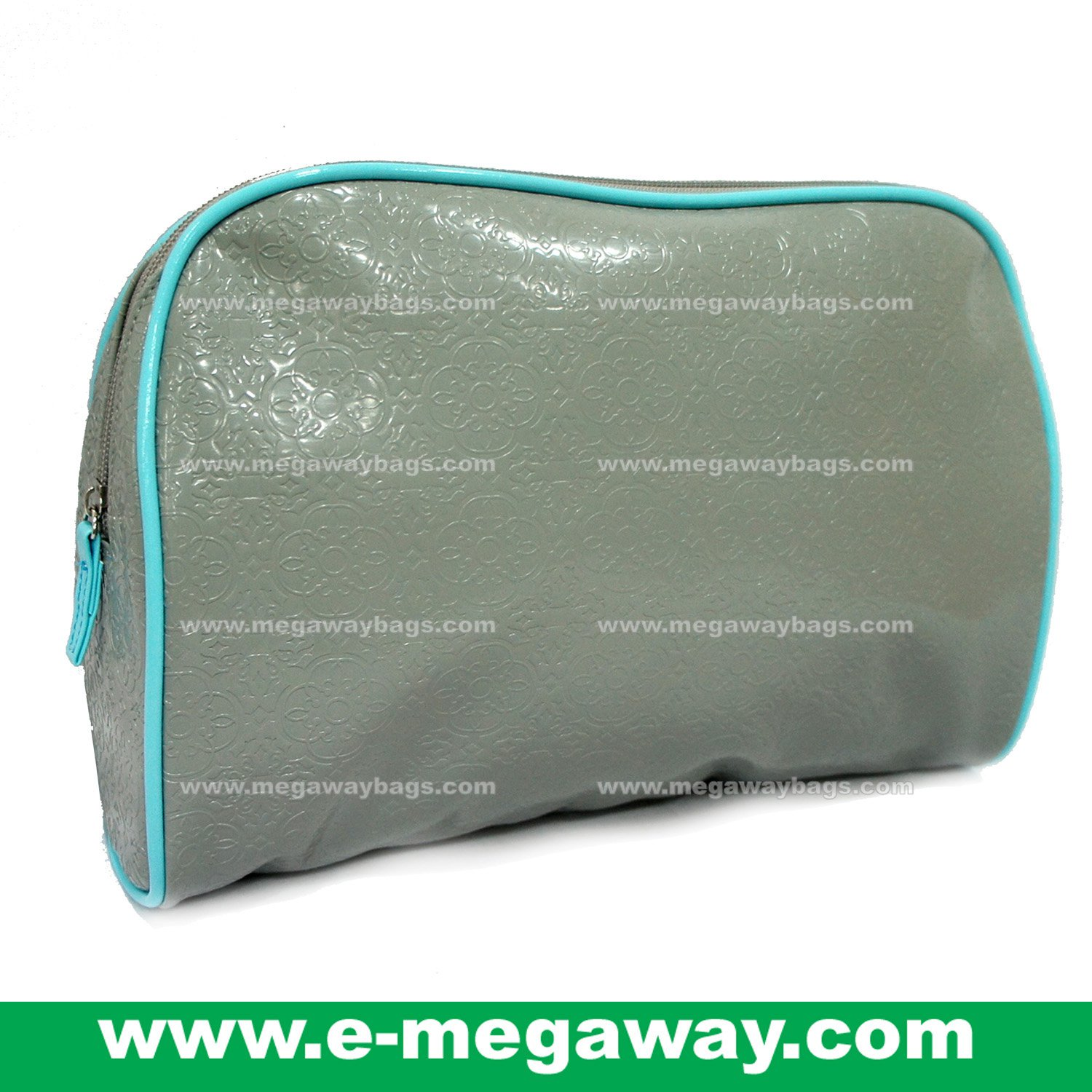Designers Unique Emboss PVC Beauty Cosmetic Make Up Bags Pouch Purse MegawayBags #CC-0043B