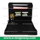 Executive Leather Zipper Binders Briefcases Portfolios Case Organizer MegawayBags #CC-0942