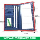 Travel Wallets Bag Money Air Tickets Credit Cards Passport Organizer MegawayBags #CC-0933A-7125