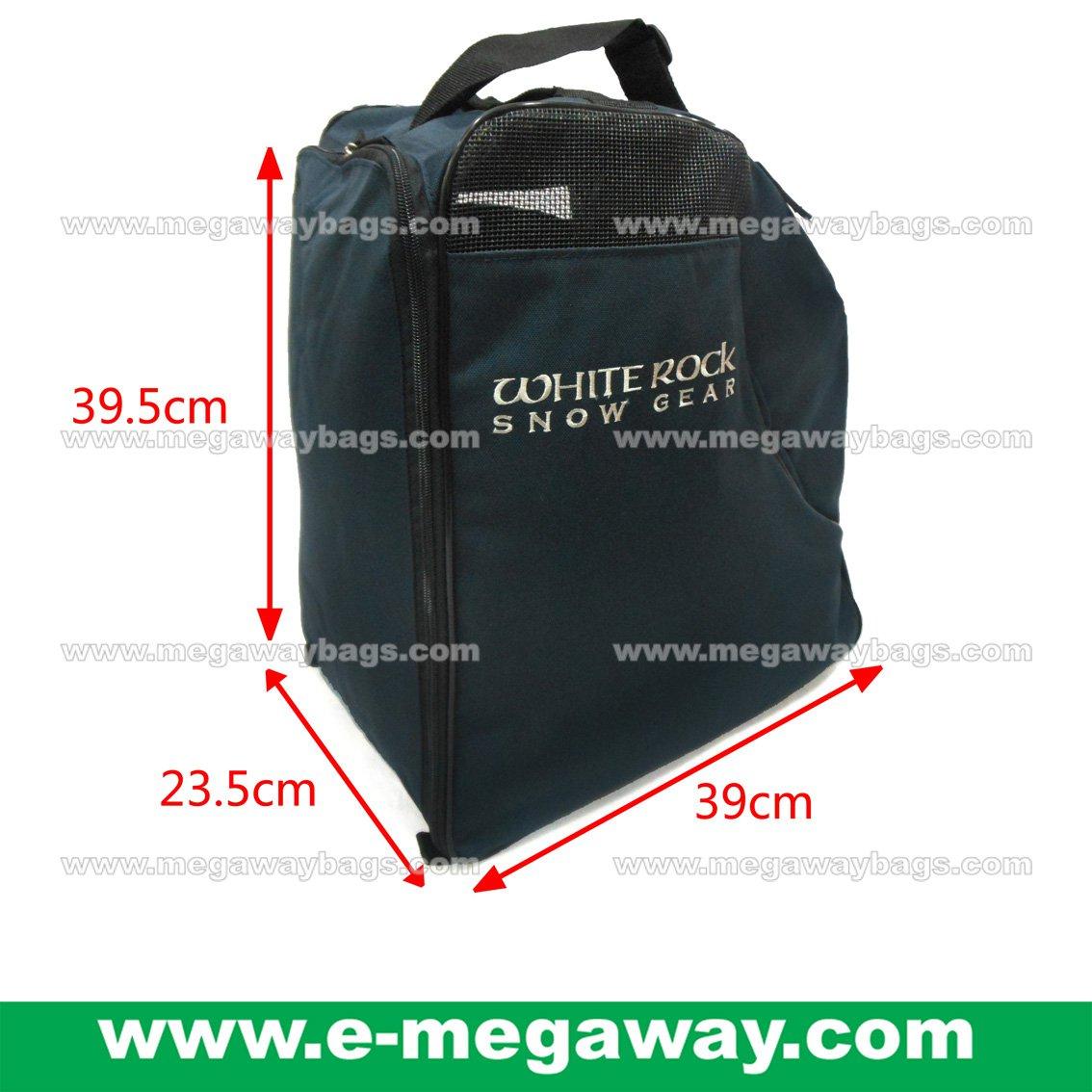 White Rock Ski Snow Boots Hockey Floor balls Cricket Skate Shoe Bag MegawayBags #CC-1039